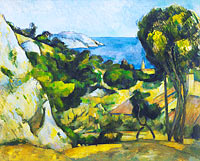 Paul Cézanne: L'Estaque