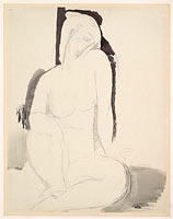 Амедео Модильяни: Seated Nude