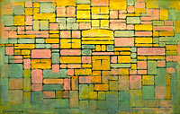 Piet Mondrian: Tableau no. 2 Composition no. V