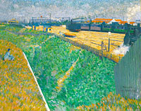Charles Angrand: The Western Railway at its Exit from Paris