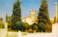 Unknown Painter: The Villa Malta, Rome