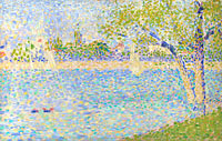 Georges Seurat: The Seine seen from La Grande Jatte