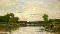 Charles-François Daubigny: View on the Oise