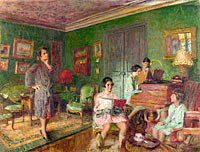 Édouard Vuillard: Madame André Wormser and her Children
