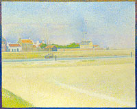 Georges Seurat: The Channel of Gravelines, Grand Fort-Philippe