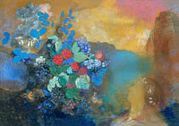Odilon Redon: Ophelia among the Flowers