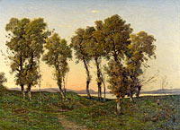 Henri-Joseph Harpignies: Autumn Evening