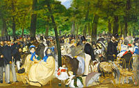 Édouard Manet: Music in the Tuileries Gardens