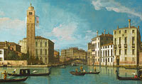 Canaletto: Venice: Entrance to the Cannaregio