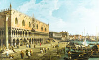 Canaletto: Venice: The Doge's Palace and the Riva degli Schiavoni