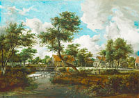 Meindert Hobbema: The Watermills at Singraven near Denekamp