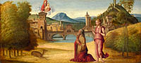 Unknown Painter: Augustus and the Sibyl