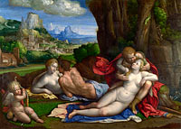 Benvenuto Tisi da Garofalo: An Allegory of Love