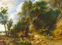Peter Paul Rubens: The Watering Place