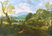 Crescenzio Onofri: Landscape with Figures