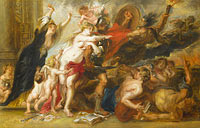 Unknown Painter, in the Style of Peter Paul Rubens: The Horrors of War