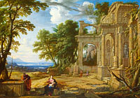 Pierre Patel: Landscape with the Rest on the Flight into Egypt