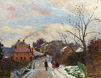 Camille Pissarro: Fox Hill, Upper Norwood