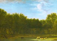 Adriaen van de Velde: The Edge of a Wood