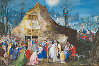 Jan Brueghel the Elder: The Adoration of the Kings