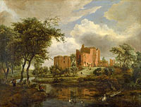 The Ruins of Brederode Castle