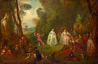 Unknown Painter, in the Style of Jean-Baptiste Pater: The Dance