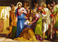 Paolo Veronese: Christ addressing a Kneeling Woman