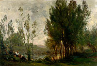 Charles-François Daubigny: Willows