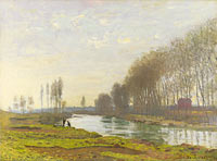 Claude Monet: The Petit Bras of the Seine at Argenteuil