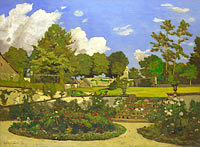 The Painter's Garden at Saint-Privé