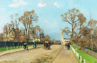 Camille Pissarro: The Avenue, Sydenham