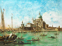 Francesco Guardi: Venice: The Punta della Dogana (1)