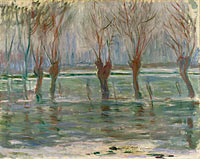 Claude Monet: Flood Waters