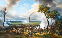 Emile Jean Horace Vernet: The Battle of Hanau