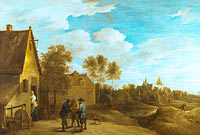 David Teniers the Younger: A View of a Village