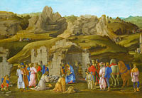 Filippino Lippi: The Adoration of the Kings