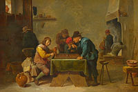 David Teniers the Younger: Backgammon Players