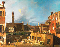 Canaletto: The Stonemason's Yard