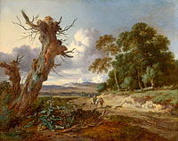Jan Wijnants: A Landscape with Two Dead Trees