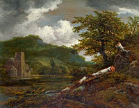 A Landscape with a Ruined Building