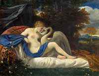 Unknown Painter: Leda and the Swan