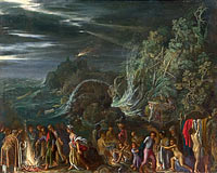 Adam Elsheimer: Saint Paul on Malta