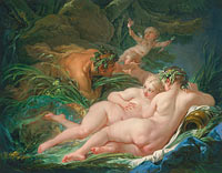 François Boucher: Pan and Syrinx