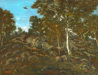 Antoine-Louis Barye: The Forest of Fontainebleau