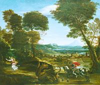 Domenichino: Saint George killing the Dragon