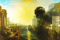 Joseph Mallord William Turner: Dido building Carthage
