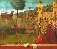 Vittore Carpaccio: The Departure of Ceyx