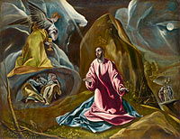 El Greco: The Agony in the Garden of Gethsemane