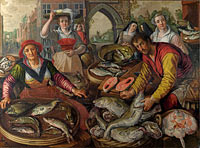 Joachim Beuckelaer: The Four Elements: Water