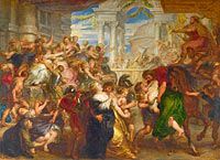 Peter Paul Rubens: The Rape of the Sabine Women